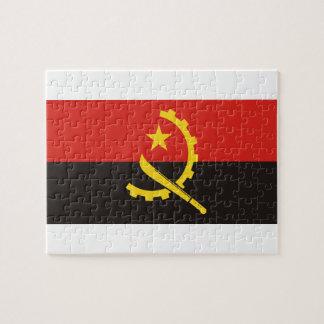Angola National World Flag Puzzle