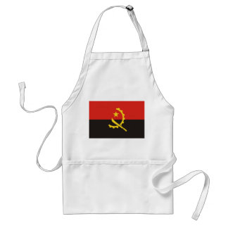 Angola National World Flag Standard Apron