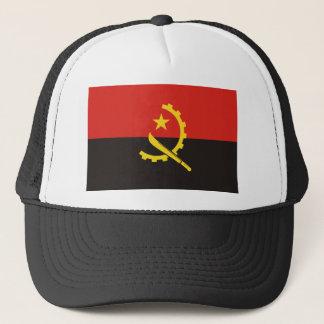 Angola National World Flag Trucker Hat