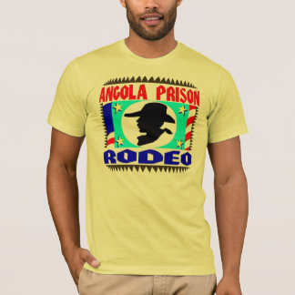 Angola Prison Rodeo Flag T-Shirt