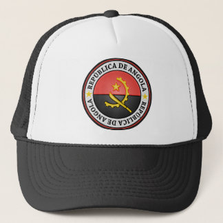 Angola Round Emblem Trucker Hat