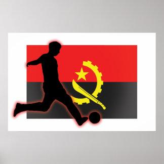Angola Soccer Striker 2 Poster