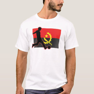 Angola Soccer Striker T-Shirt