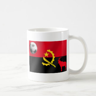 Angolan 2010 2014 soccer flag Angola football Coffee Mug