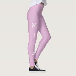Angora Pink Personalized Leggings