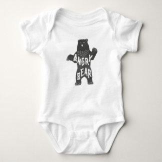 Angry Bear Baby Bodysuit