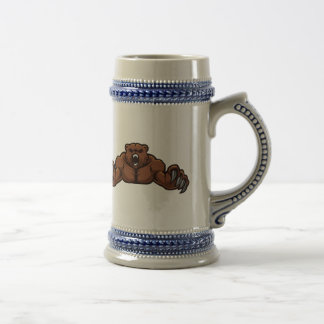 Angry Bear Beer Stein