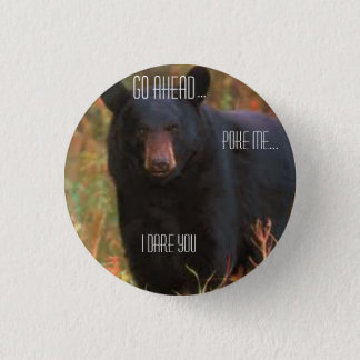 Angry Bear Button