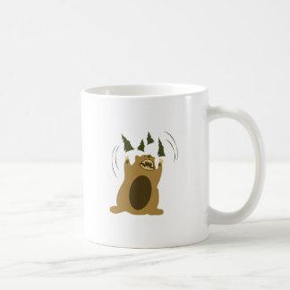 Angry Bear Coffee Mugs