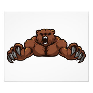 Angry Bear Photo Print