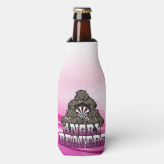 Angry Beavers Darts Team Bottle Cooler