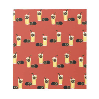 Angry Black Lemon Tea Notepad