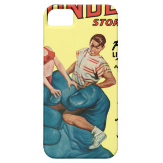 Angry Blue Giant and Teenagers iPhone 5 Covers