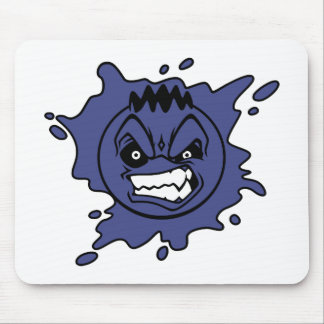Angry Blueberry Mouse Pad