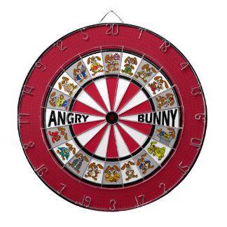 Angry Bunny Dart Board