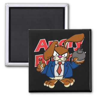 Angry Bunny Magnet 2
