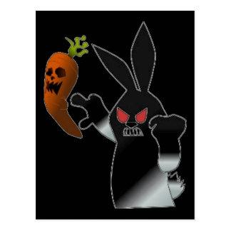 Angry Bunny Postcard
