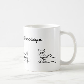 Angry Cat and the New Pet Coffee Mug