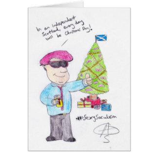 Angry Christmas Card