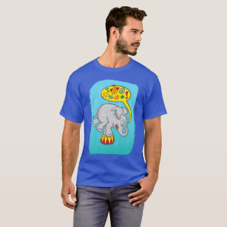 Angry circus elephant saying bad words T-Shirt