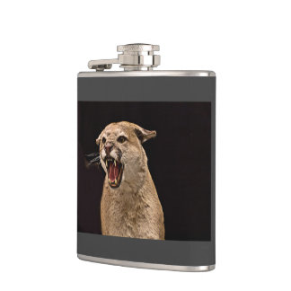 Angry Cougar Hip Flask