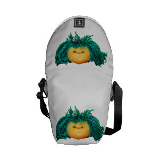 Angry Doll Courier Bag