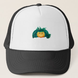 Angry Doll Trucker Hat