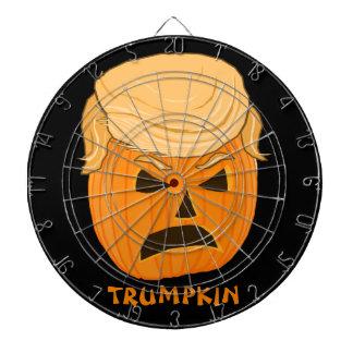 Angry Donald Trump Pumpkin Trumpkin Dartboards