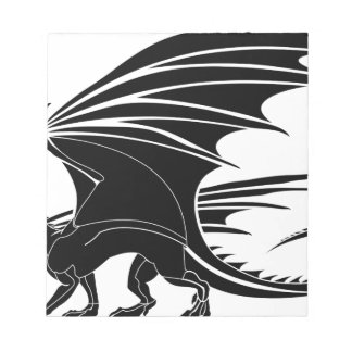 Angry Dragon Notepad