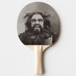 Angry Dude (Printed 1 Side / More Options) - Ping Pong Paddle