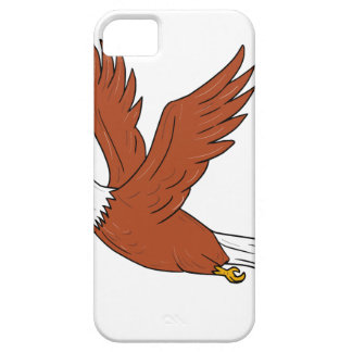 Angry Eagle Flying Cartoon Case For The iPhone 5