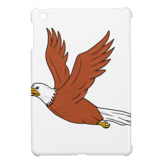 Angry Eagle Flying Cartoon iPad Mini Cases