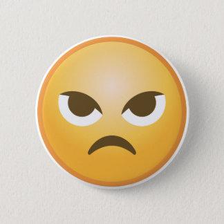 Angry Emoji 2 Inch Round Button