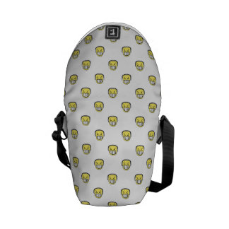 Angry Emoji Graphic Pattern Commuter Bag