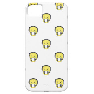 Angry Emoji Graphic Pattern iPhone 5 Case