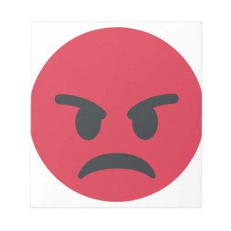 Angry Emoji Notepads