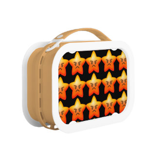 Angry Emoji Star Lunch Box