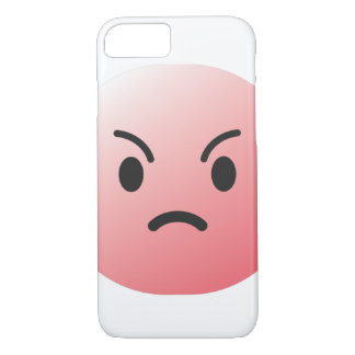 Angry emoticon face cover