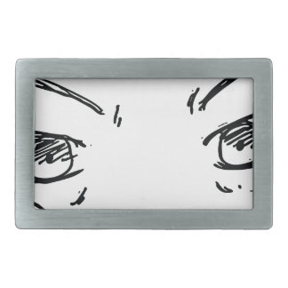 Angry Eyes 1 Belt Buckle