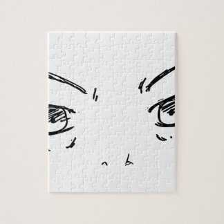 Angry Eyes 1 Jigsaw Puzzle