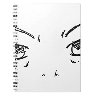 Angry Eyes 1 Notebook