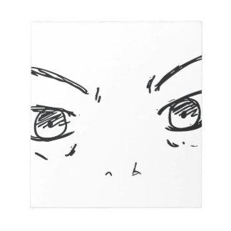 Angry Eyes 1 Notepad