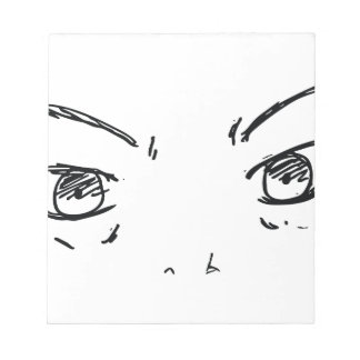 Angry Eyes 1 Notepads