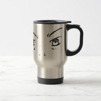 Angry Eyes 1 Travel Mug