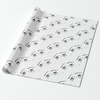 Angry Eyes 1 Wrapping Paper