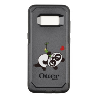 Angry Face Panda 39 OtterBox Commuter Samsung Galaxy S8 Case