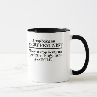 Angry Feminist Mug
