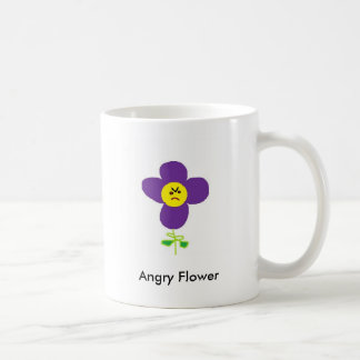 Angry Flower, Angry Flower Coffee Mug