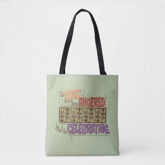 Angry Gods Tote Bag