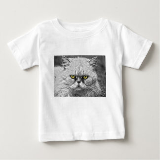 Angry Golden Cat Eyes Baby T-Shirt